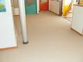 風除室の廊下張り替え工事